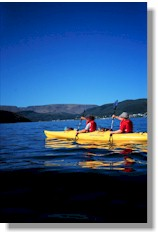 Kayaking in Bonne Bay